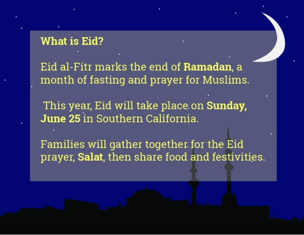 Eid al Fitr:moon sighted in Saudi Arabia