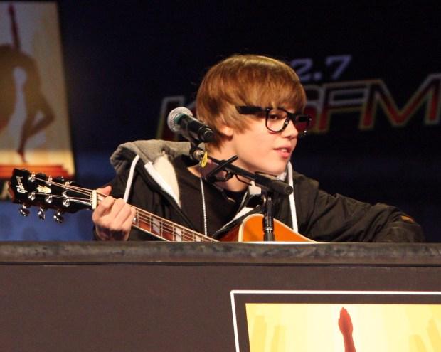 Justin Bieber Rocked a Free Concert at LA Live