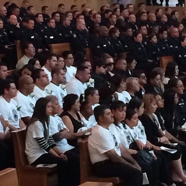 Images: LAPD Officer Robert Sanchez Memorial Service