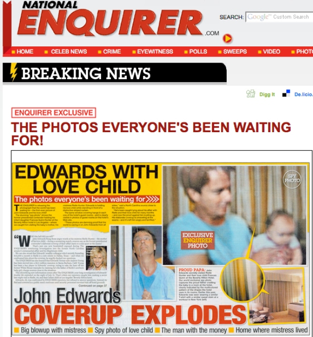 John Edwards Admits Extramarital Affair Gallery