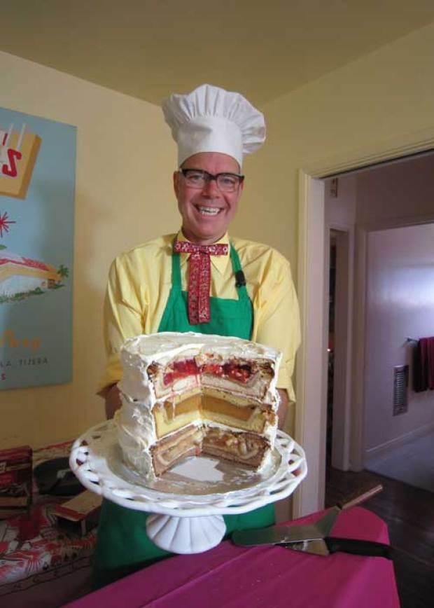 Recipe The Cherpumple Quot Monster Quot Pie Cake Nbc Southern