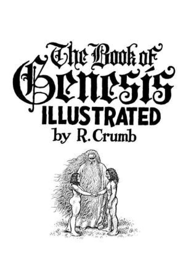 "Gallery: Pages from R. Crumb's ""The Book of Genesis Illustrated"""