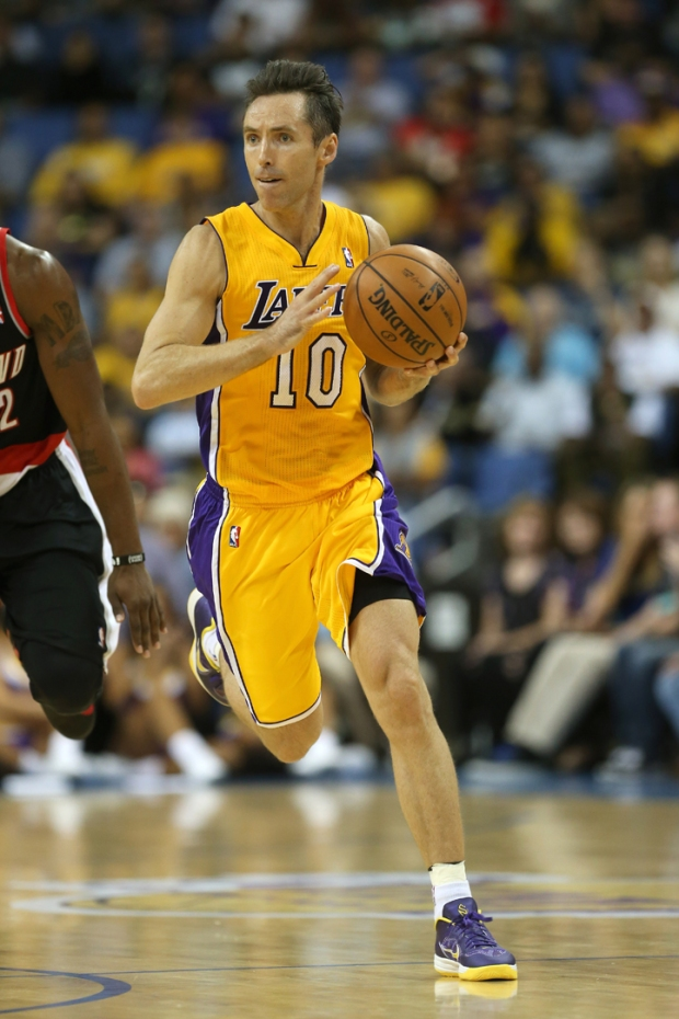 Steve Nash on the Court