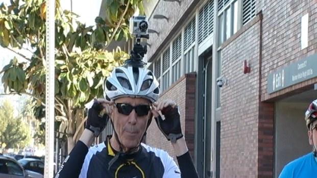 [LA] Fritz's CicLAvia HelmetCam