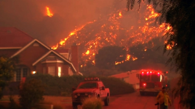 New Evacuations Ordered Due To Wildfire That Burned 18 Homes Nbc