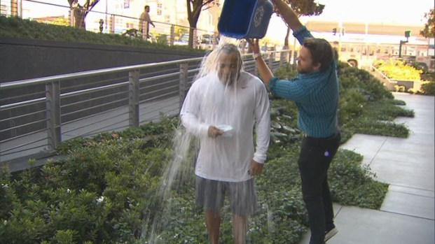 [BAY] Geraud Moncure Accepts Ice Bucket Challenge