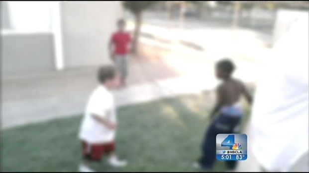 [LA] Men Questioned in Connection With Kid Fight Video