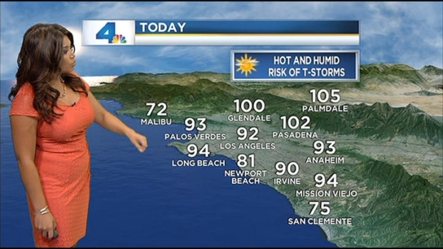 [LA] Weather Video: Monday, August 13, 2012