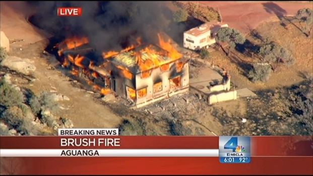 [LA] Massive IE Brush Fire Triggers Mandatory Evacuations