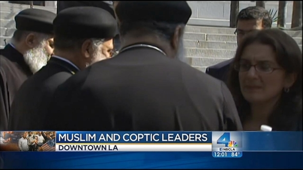 [LA] Coptic, Muslim Leaders Condemn Middle East Violence