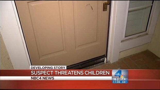 [LA] Man Arrested On Suspicion of Threatening Kids