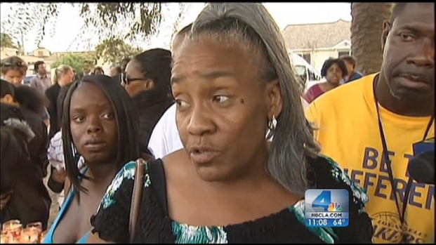 [LA] Neighborhood Heart Sick Over Slain Special-Needs Teen
