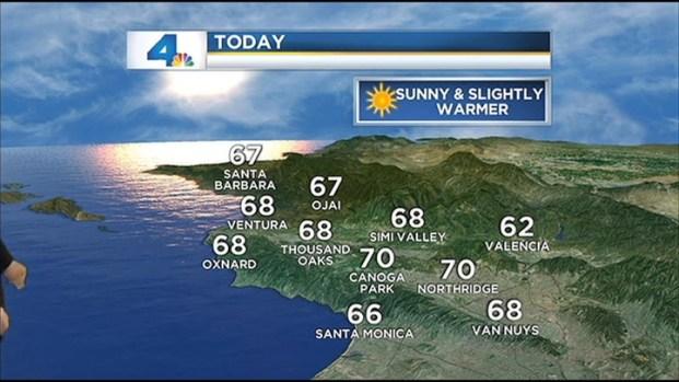 [LA] Weather Forecast for November 11, 2012