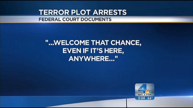 [LA] Court Docs Reveal New Details in Alleged Terror Plot