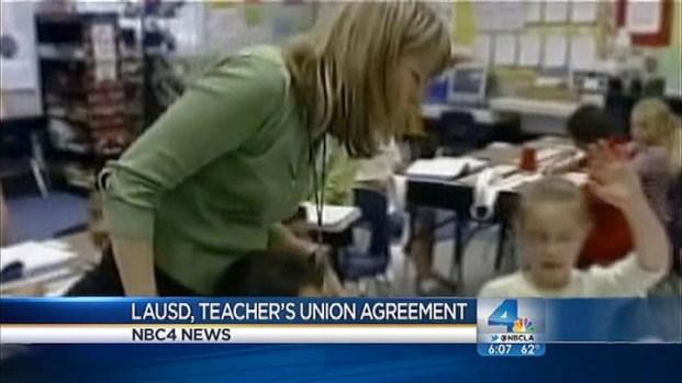[LA] LAUSD, Teachers Agree on Evaluation Plan