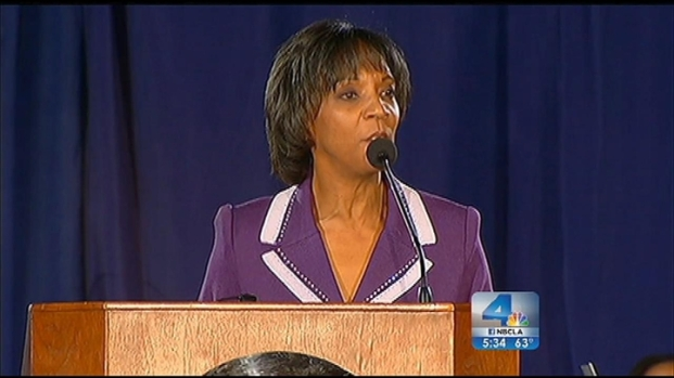 [LA] Jackie Lacey Sworn In as LA's First African-American, Woman DA