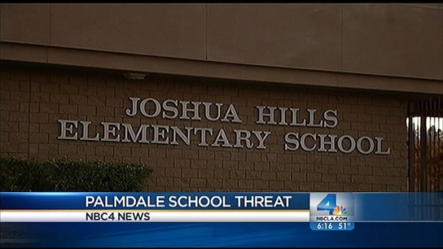 [LA] Palmdale School on Modified Lockdown After Suspected Threat
