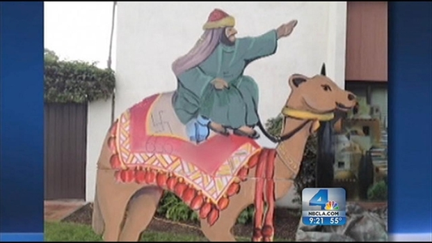 [LA] Vandals Target Nativity Scenes