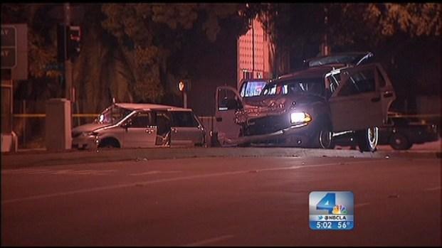 [LA] Police Sort Through Deadly Christmas Day Pursuit