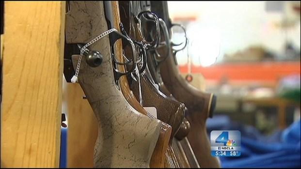 [LA] Ontario Gun Show 1st in SoCal Since Newtown Tragedy