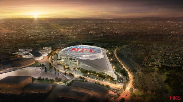 [LA GALLERY] LA Rams Stadium Development in Inglewood