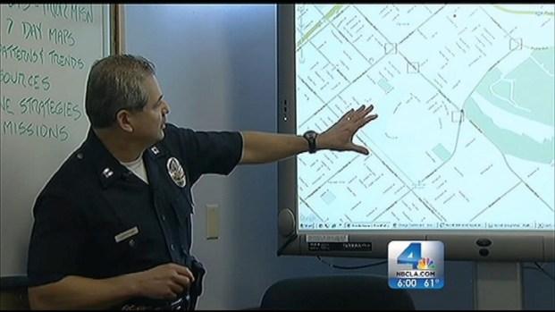 [LA] LAPD Stats Reveal Crime Down in 2012