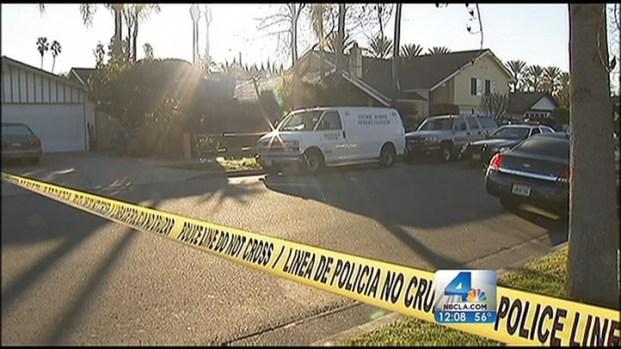 [LA] Human Remains Examined in Santa Ana Backyard