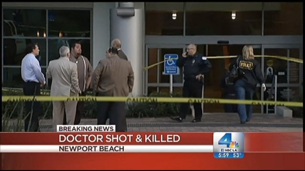 [LA] Doctor Fatally Shot at Newport Beach Office