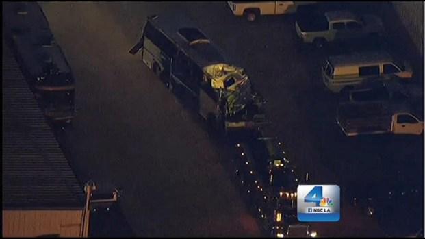 [LA] NTSB to Investigate Tour Bus Crash that Killed 7 Passengers