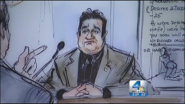 [LA ONLY RESTRICTED ART] School Board Member Testifies in Sex-for-Money Trial