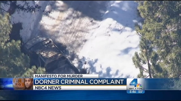 [LA] Federal Criminal Complaint Suggests Dorner Fled to Mexico