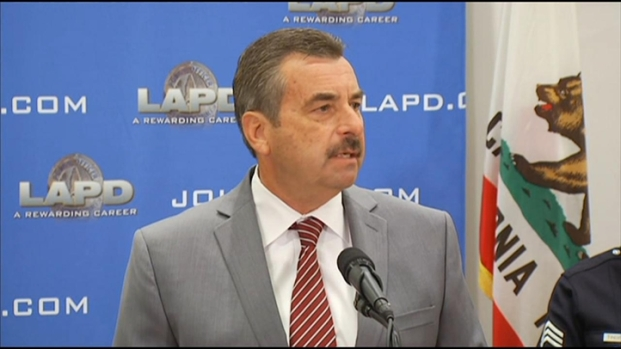 [LA] LAPD Chief Charlie Beck Remembers Victims of Dorner Shootings