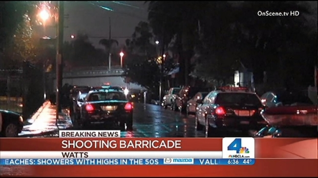 [LA] 2 Dead, 1 Gravely Wounded in Watts Barricade
