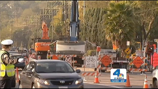[LA] Coldwater Canyon Avenue, 405 Freeway Closures This Weekend