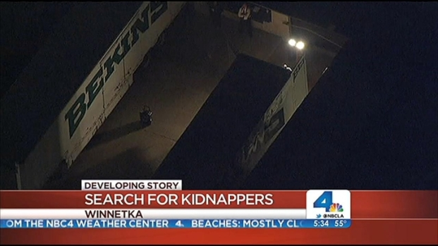 [LA] Storage Yard Searched in Abduction of 10-Year-Old Girl