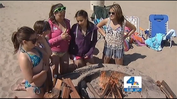[LA] Debate Heats Up Over Beach Fire Pit Ban