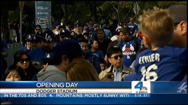 [LA] Opening Day At Dodger Stadium