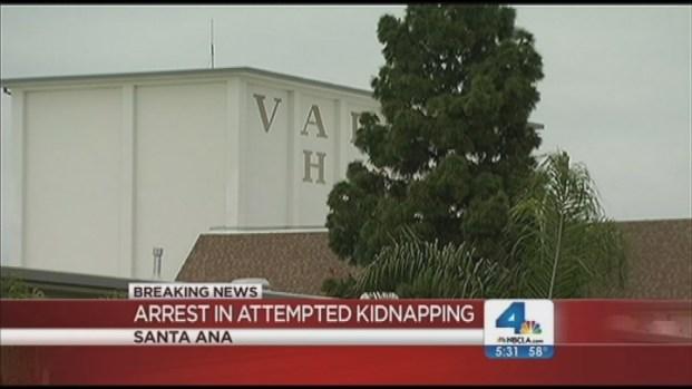 [LA] Attempted Kidnapper Arrested; Second Suspect Sought