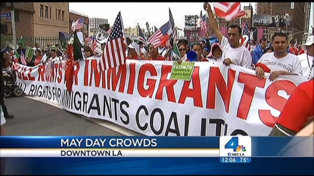 [LA] May Day Rally Brings Thousands Into SoCal Streets