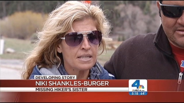 "[LA] Sister of Missing Hiker Is Hopeful: ""He's the MacGyver Type"""