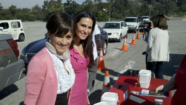 """Images: """"Drive-Through"""" Relief Drive at Dodger Stadium"""