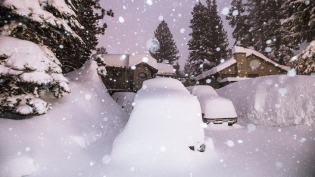 So Mammoth Is Under So. Much. Snow Right Now