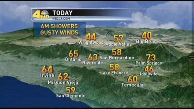 [LA] Weather Video - AM - Monday, March 7, 2011