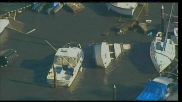 [LA] Santa Cruz Marina Damage