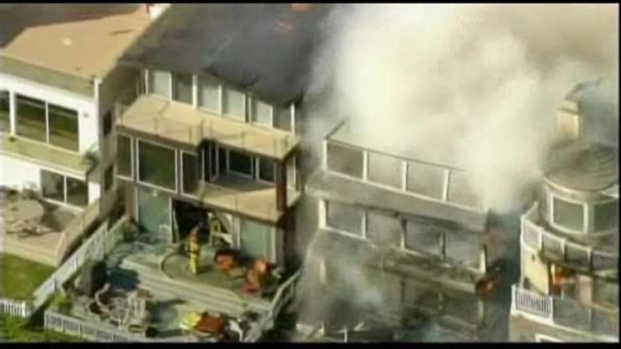 [LA] $10 Million Fire Sparked by Charcoal Grill