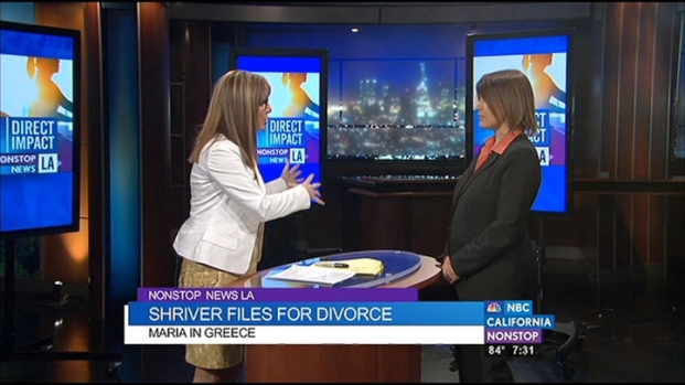 [LA] Maria Shriver Files for Divorce