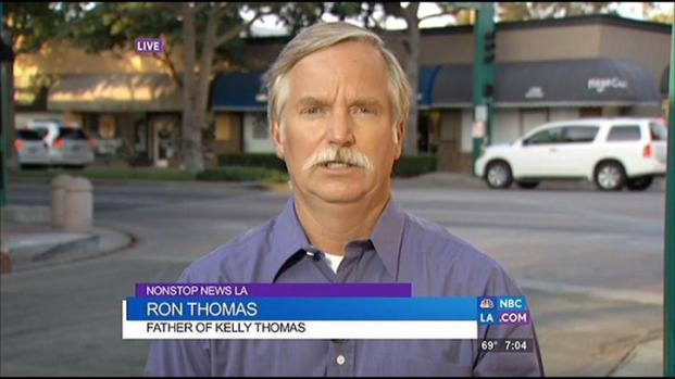 [LA] Father's Reaction to Fullerton Police Chief On Medical Leave
