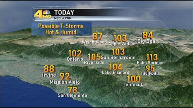 [LA] Weather Forecast: Friday August 26, 2011