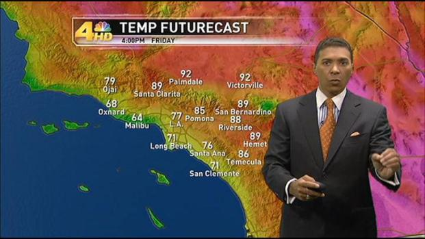 [LA] Weather Forecast: Friday, September 23, 2011