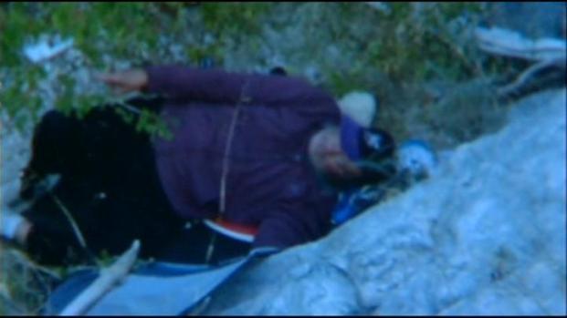 [LA] Man Rescued Six Days After Cliff Crash
